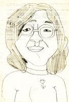 拡大画像:小学生の私が描いた母の絵
