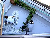 防水塗膜工事本番