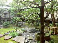 一乗寺の中庭
