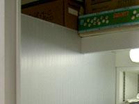 Photo Album: ミニキッチンにパーテション(計2枚)
